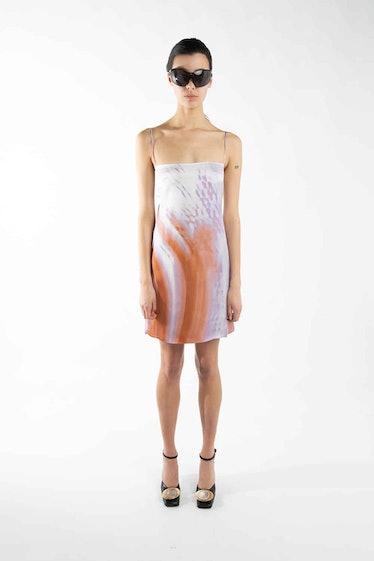 Terracotta Open Back Summer Dress
