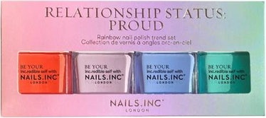 NailsINC Proud 4-Piece Nail Polish Set