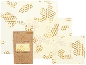 Bee's Wrap Reusable Beeswax Food Wrap (3-Piece)