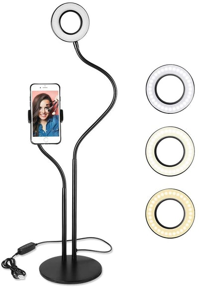 UBeesize Selfie Ring Light and Tripod