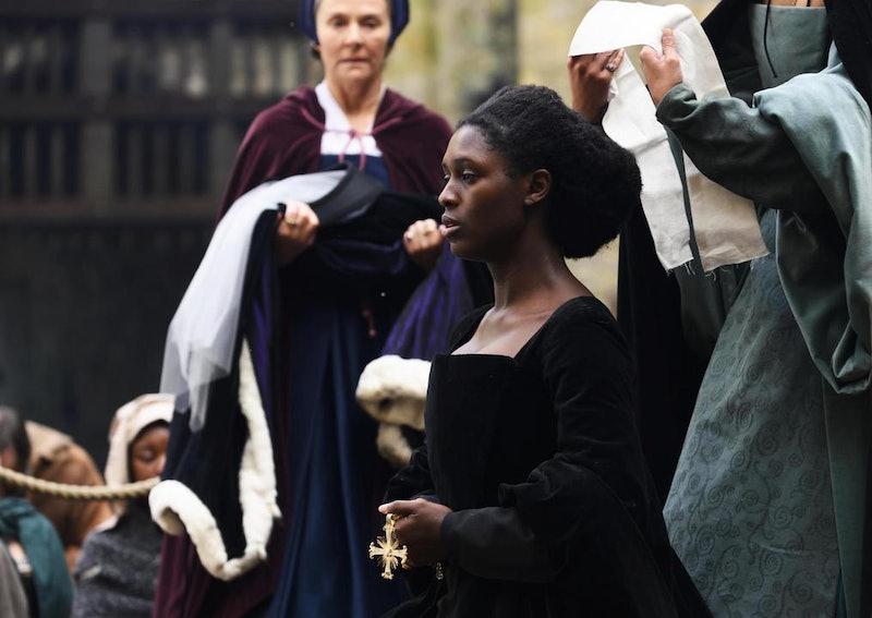Lady Anne Shelton (played by Amanda Burton)Anne Boleyn (played by Jodie Turner-Smith)