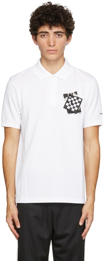 Raf Simons x Fred Perry Chest Patch Polo