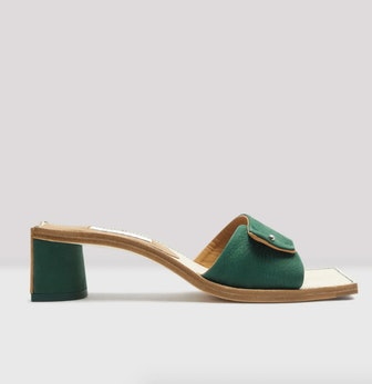 Stacy Buisson Nubuck Sandals