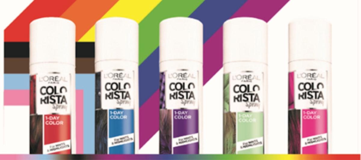 L'Oreal Paris Colorista 1-Day Color Sprays