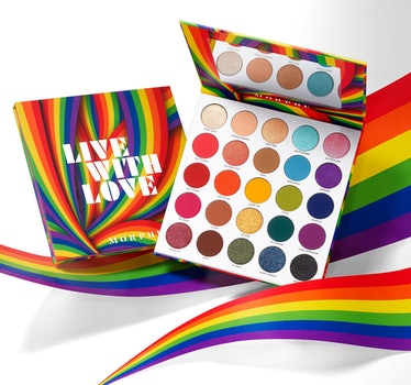 Morphe Live With Love Artistry Palette