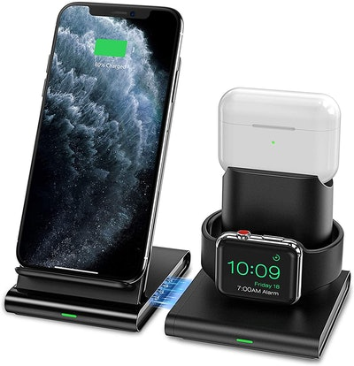 iSeneo 3-in-1 Wireless Charging Station