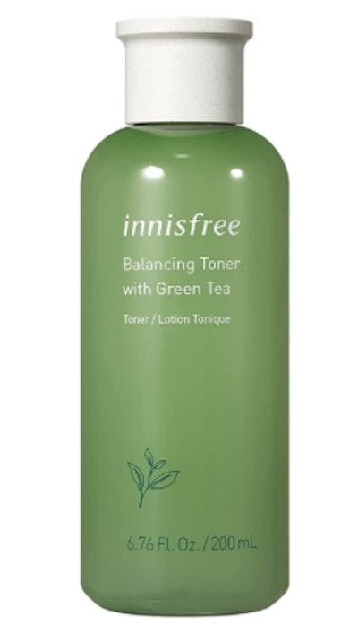 innisfree Green Tea Moisture Balancing Toner Hydrating Face Treatment (6.76 Oz)