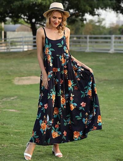 YESNO Beach Swing Dress