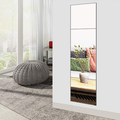 Ruomeng Full Length Mirror Tiles (4-Pack)