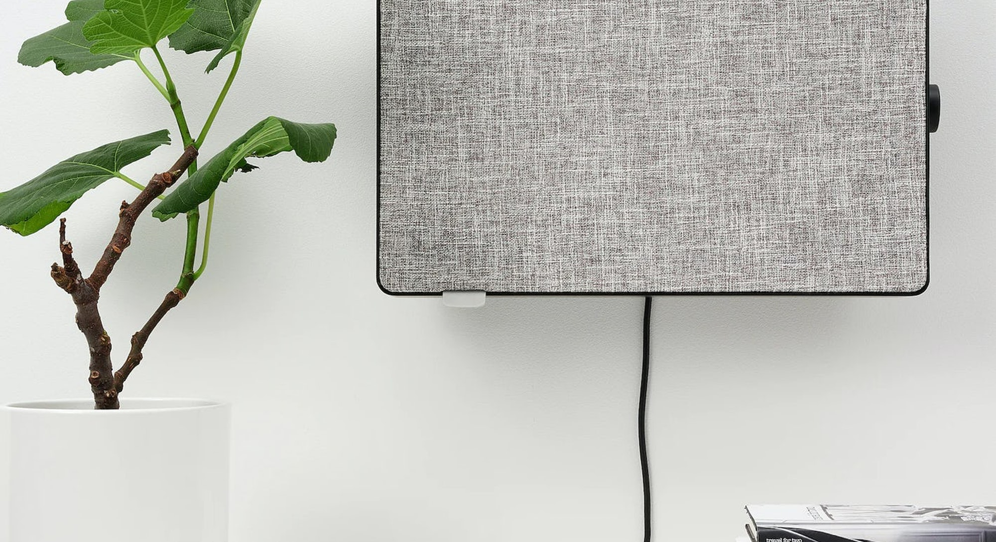 An IKEA speaker. Home goods. Design. Interior design.