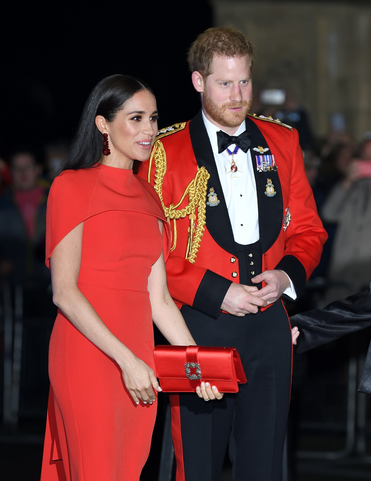 Prince Harry and Meghan Markle at the function.