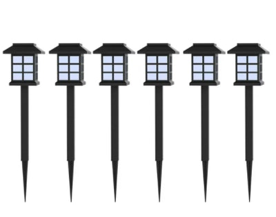 Solar Powered LED Outdoor Stake Lights