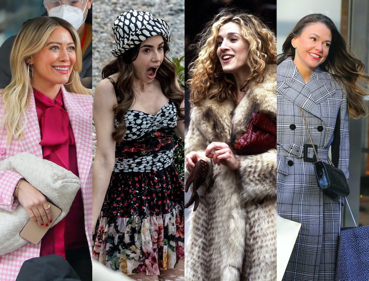 Hilary Duff, Lily Collins, Sarah Jessica Parker, Sutton Foster