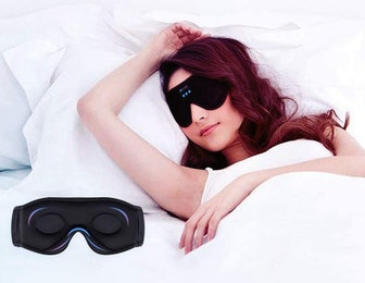 Lightimetunnel Bluetooth 3D Eye Mask Sleep Headphones