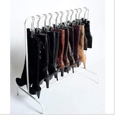 Boot Organizer: The Boot Rack Garment & Boot Storage