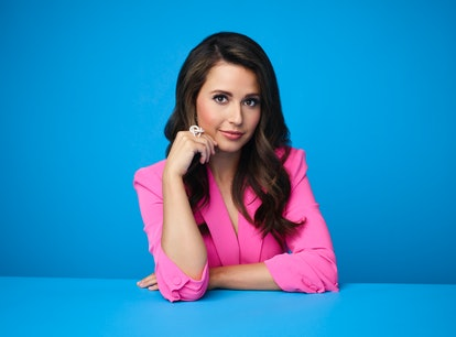 ABC's 'The Bachelorette's Season 17 lead, Katie Thurston in a pink suit