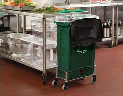 Rubbermaid Commercial Products Slim Jim Recycling Bin