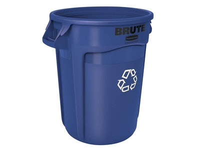 Rubbermaid Commercial Products Brute Recycling Bin