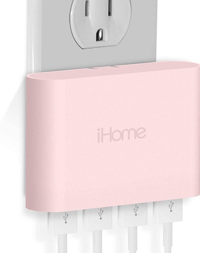 iHome AC Pro 4-Port USB Wall Charger
