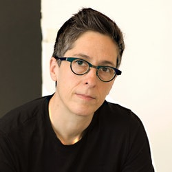 Alison Bechdel is a celebrated cartoonist and the author of 'The Secret to Superhuman Strength.'