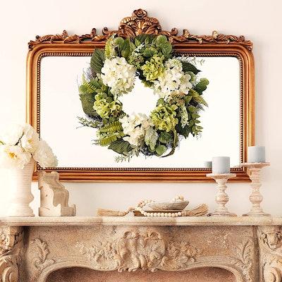 Worth Imports Hydrangea Wreath