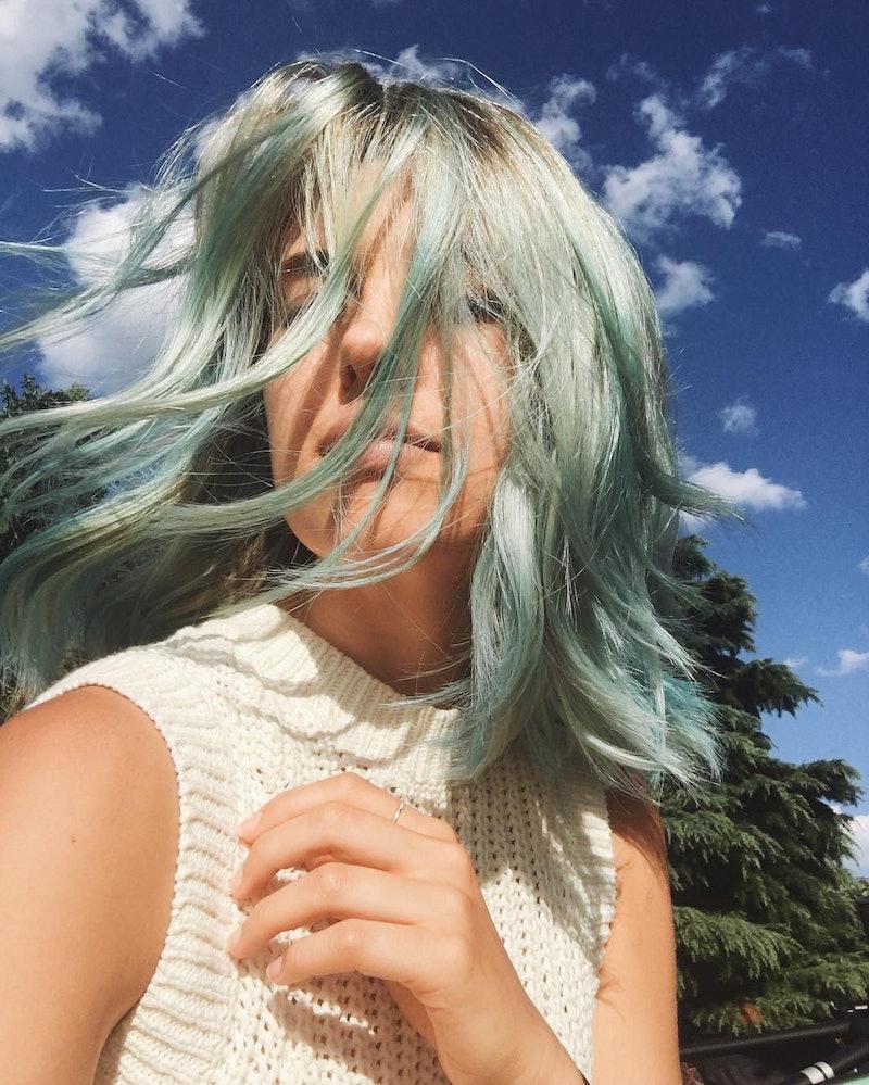 aemilia madden blue hair