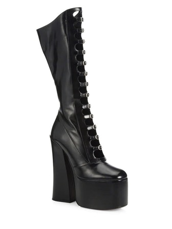 Kiki Strappy Leather Platform Boots
