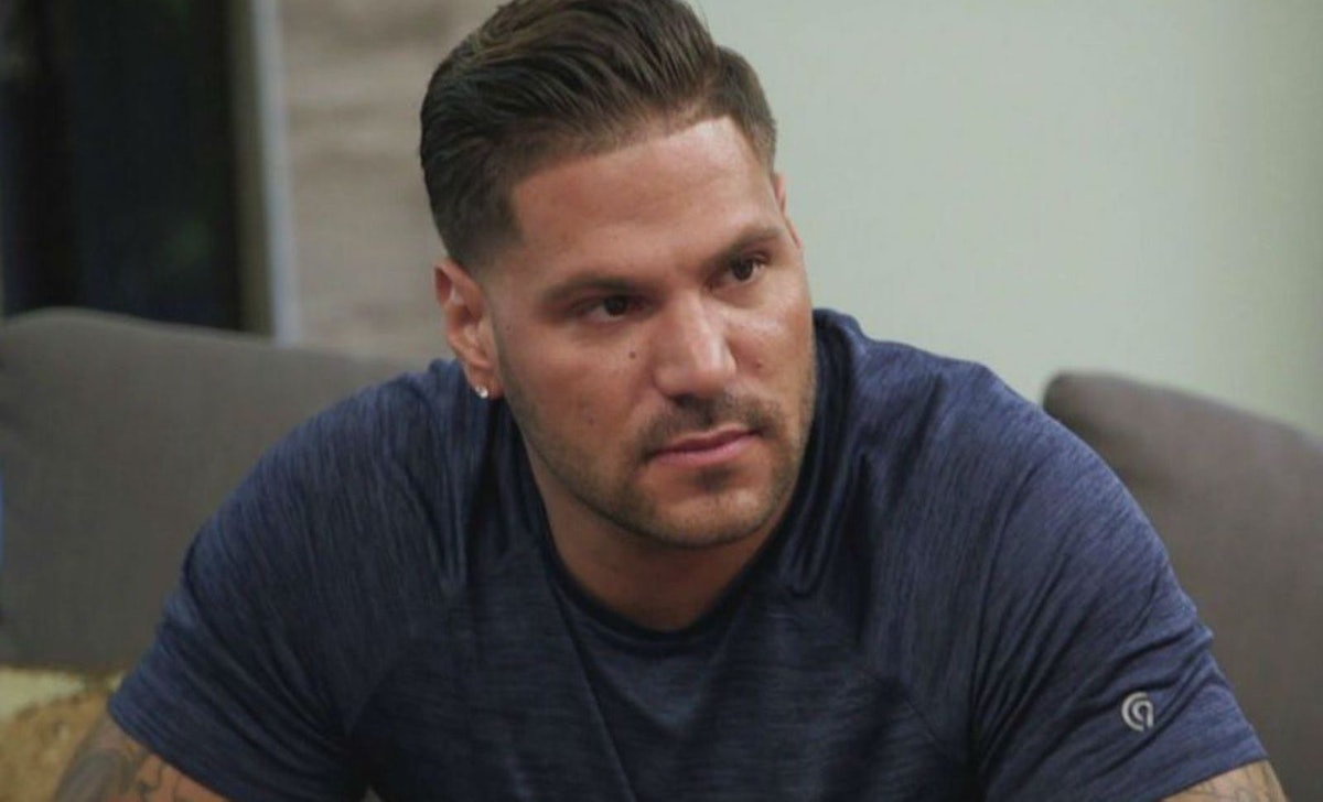 Ronnie exhibits the attributes of a Taurus zodiac on 'Jersey Shore.'