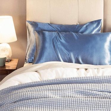 Bedsure Standard Size Satin Pillowcase (Set of 2)