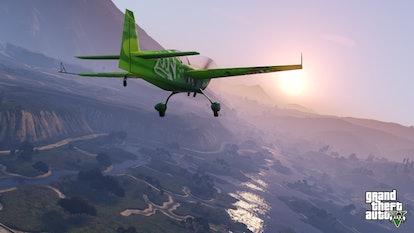 A screenshot from GTA V