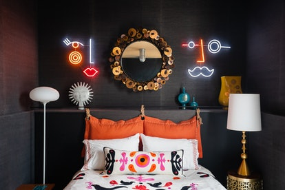 Jonathan Adler's collection with Yellowpop includes this whimsical neon art piece.