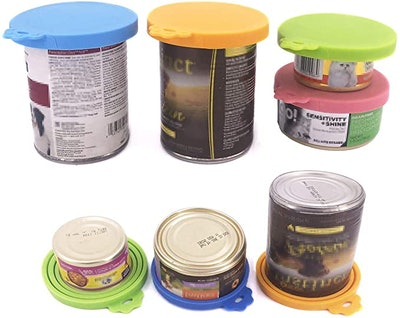 Comtim Pet Food Can Cover Silicone Can Lids