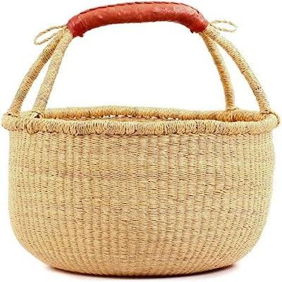 Baskets of Africa Fair Trade African Market Basket