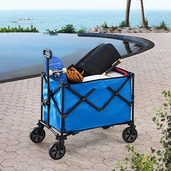 Sunjoy Odell Collapsible Folding Wagon