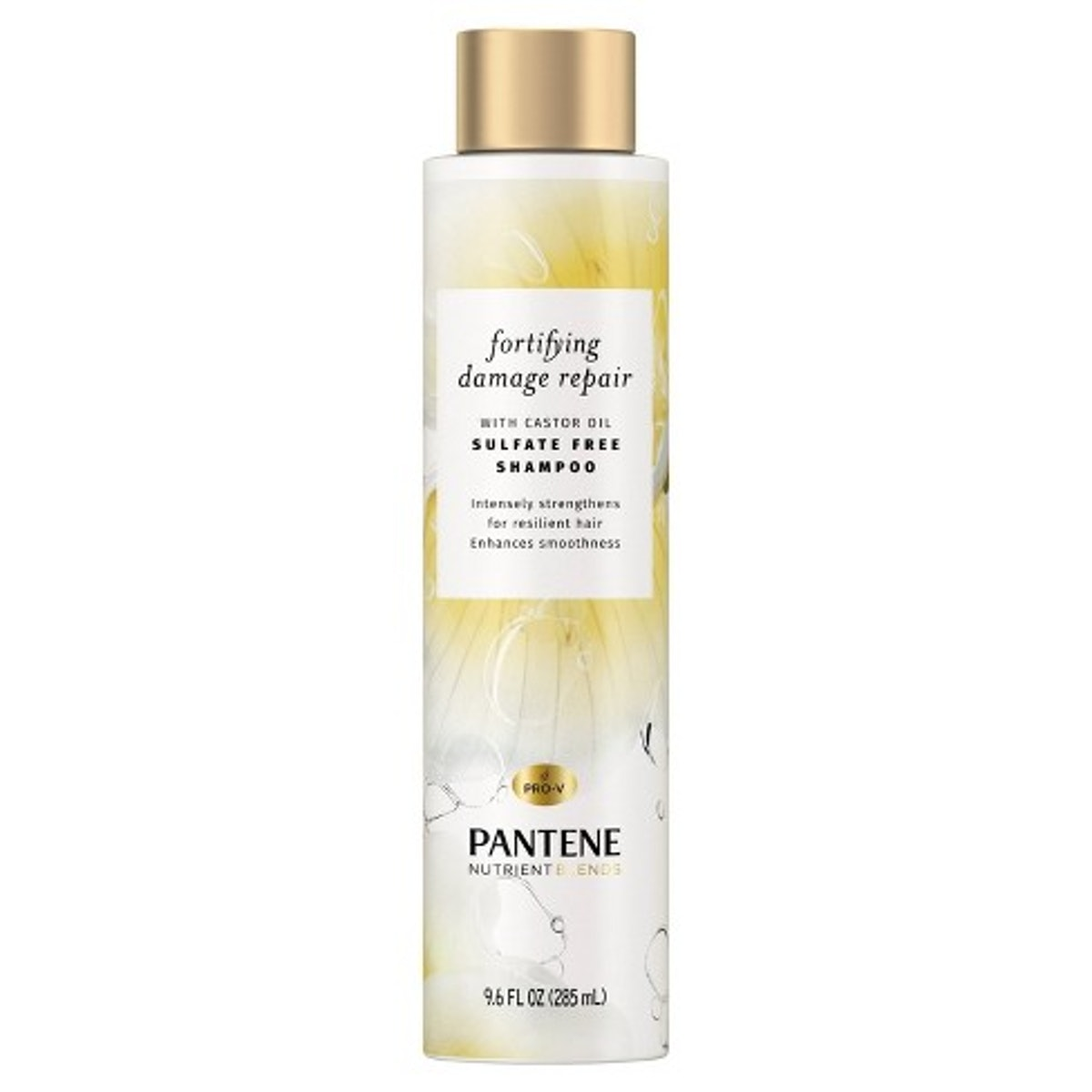 Pantene Nutrient Blends Sulfate Free Shampoo With Castor Oil