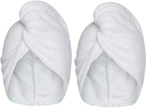 Turbie Twist Microfiber Hair Towel Wrap (2-Pack)