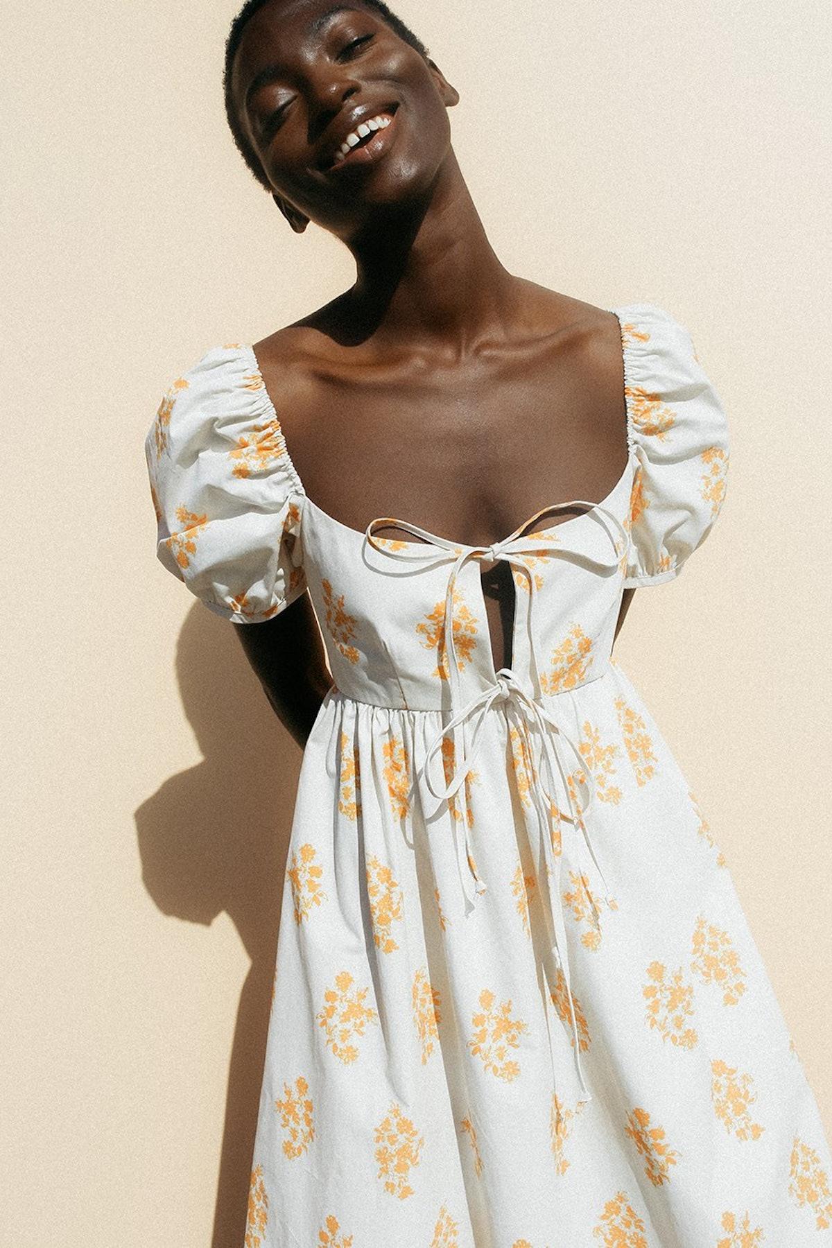 Alessia Dress Marigold