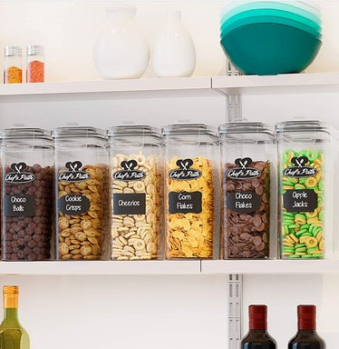 Cereal Containers Storage (Set of 4)