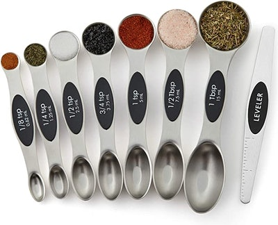 Spring Chef Magnetic Measuring Spoons (8-Piece)