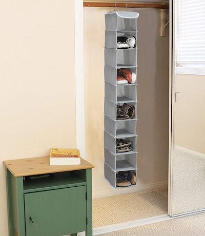 Simple Houseware Hanging Shoes Organizer