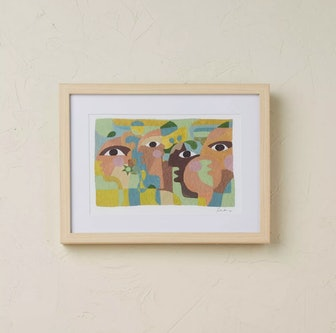 "16"" x 12"" Eyes on You Framed Wall Art"