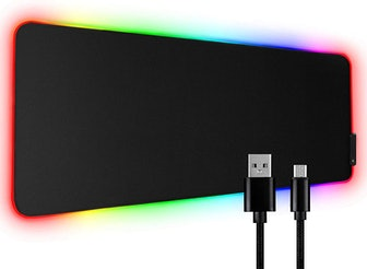 Tonos XL LED Extended RGB Gaming Mouse Pad