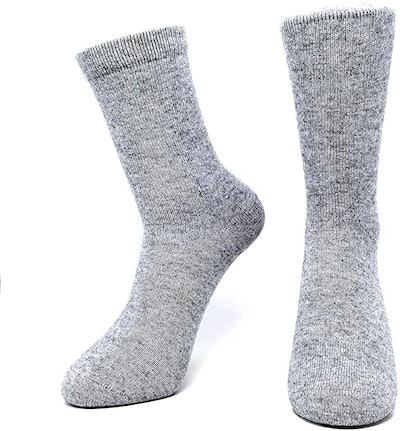 Mongolia Cashmere Mid Socks