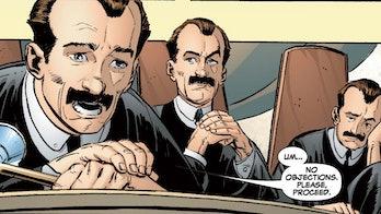 Mobius in the Marvel Comics.