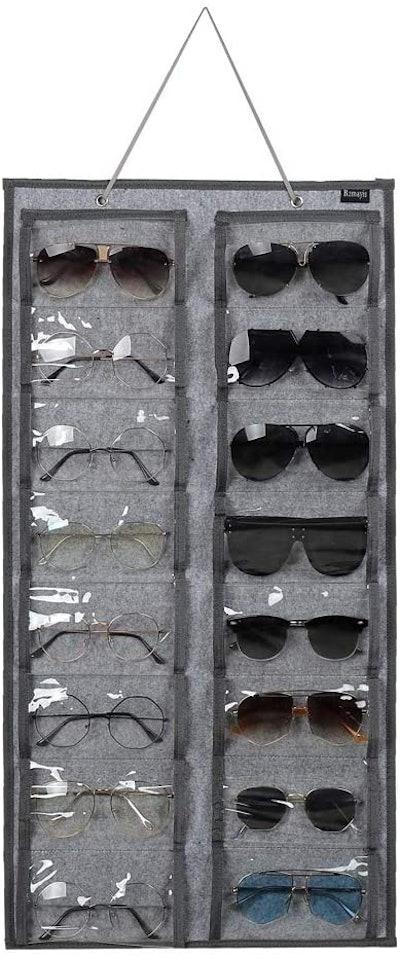 RZMAYIS Hanging Sunglasses Organizer