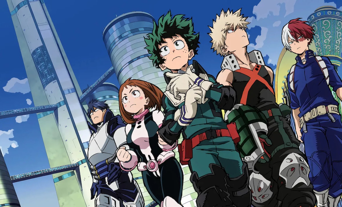 'My Hero Academia' is one of many popular anime shows newbies to the genre should check out.