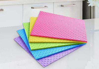 Swedish Dishcloths Reusable Towels (10-Piece)