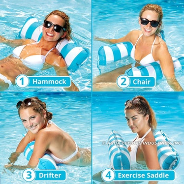 Aqua 4-in-1 Monterey Hammock Inflatable Pool Float