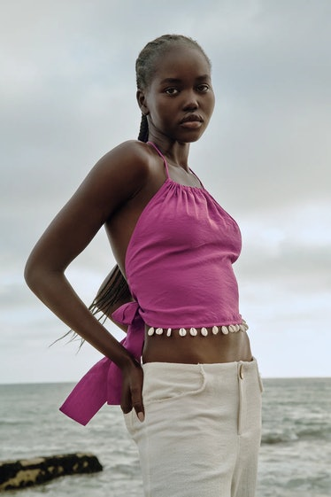 Halter Top With Shells