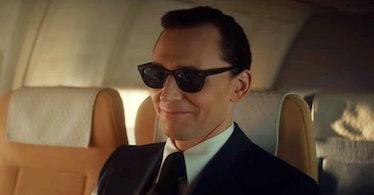 Tom Hiddleston as Loki disguised as D.B. Cooper in 'Loki'